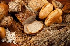 Assortiment van brood royalty-vrije stock afbeelding