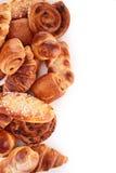 Assortiment van gebakjes stock afbeelding