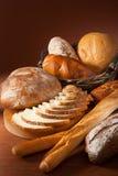 Assortiment van gebakken brood Royalty-vrije Stock Fotografie