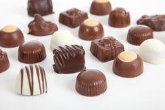 Assortiment van giftchocolade royalty-vrije stock foto's