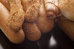 Assortiment van kernachtige baguettes Royalty-vrije Stock Afbeelding