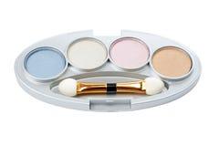 Assortiment van make-upn stock afbeelding