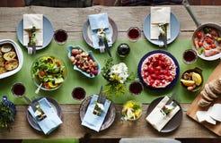 Assortiment van voedsel Royalty-vrije Stock Fotografie