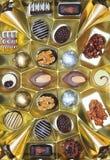 Assortimento dei bonbon del cioccolato Fotografie Stock Libere da Diritti