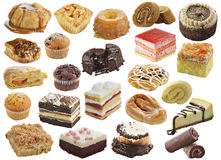 Assortimento dei dessert Immagine Stock