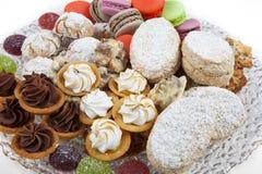 Assortimento dei dessert Fotografia Stock Libera da Diritti