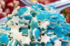 Assortimento dei dolci colorati gelatinizzati come prodotto Fotografie Stock