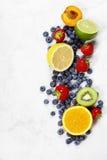 Assortimento dei frutti Fotografia Stock