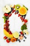 Assortimento dei frutti Fotografie Stock Libere da Diritti