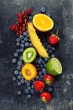 Assortimento dei frutti Fotografia Stock Libera da Diritti