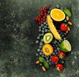 Assortimento dei frutti Fotografie Stock