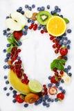 Assortimento dei frutti Immagini Stock