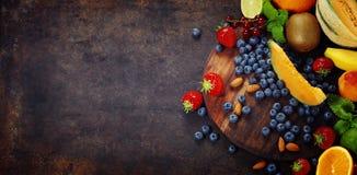 Assortimento dei frutti Immagine Stock Libera da Diritti
