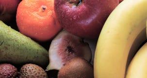 Assortimento dei frutti freschi, sani, organici Fotografia Stock Libera da Diritti
