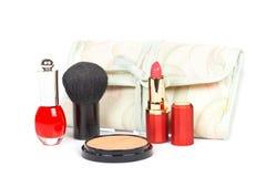 Assortimento dei makeups fotografia stock