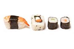 Assortimento dei sushi Fotografia Stock