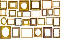 Assortimento dei telai di arte Fotografia Stock Libera da Diritti