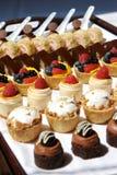 Assortimento del cassetto del dessert Fotografia Stock Libera da Diritti