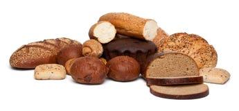 Assortimento del pane Fotografia Stock