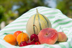 Assortimento della frutta fresca Immagine Stock