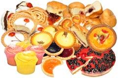 Assortimento della pasticceria e del dolce Immagine Stock Libera da Diritti