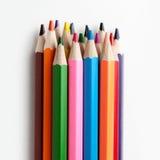 Assortimento delle matite colorate Immagine Stock Libera da Diritti