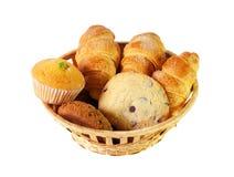 Assortimento delle pasticcerie e dei biscotti Fuoco selettivo Fotografie Stock