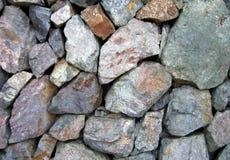 Assortimento delle rocce Fotografie Stock