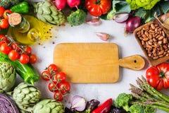 Assortimento delle verdure organiche fresche del mercato dell'agricoltore Fotografia Stock Libera da Diritti