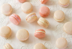 Assortimento di Macaron Fotografie Stock