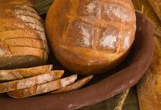 Assortimento di pane cotto fotografie stock