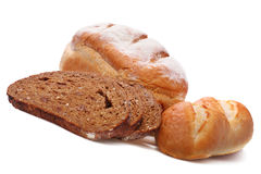Assortimento di pane di recente cotto Immagini Stock