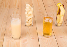 Assortimento di succo fresco Fotografie Stock Libere da Diritti