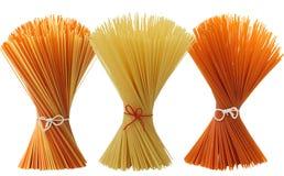Assortimento Mixed di spaghetti Fotografia Stock Libera da Diritti