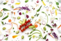 Assortiments verse groenten Stock Afbeeldingen