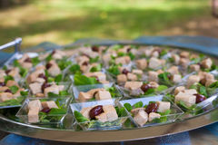 Assortment Appetizers and finger food Royalty Free Stock Image