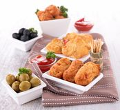 Assortment of appetizers Royalty Free Stock Image