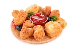 Assortment of appetizers Stock Photos