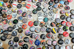 Assortment of Badges. Royalty Free Stock Image