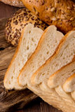 Assortment of baked bread Royalty Free Stock Photo