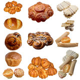Assortment of baked bread. Stock Images