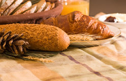 Assortment of baked bread Royalty Free Stock Photography