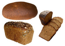 Assortment of Baked Bread. Stock Photo