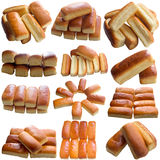 Assortment of baked bread. Royalty Free Stock Photos