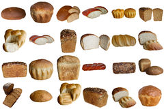 Assortment of Baked Bread. Baking bead bread cereal corn cu delicious dinner dish domestic ear eat feed food stock image
