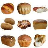 Assortment of  Baked Bread. Cereal  bread  harvest  rural  fresh  rye  wheat  wheat  food  feed royalty free stock photography
