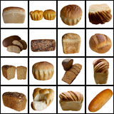 Assortment of baked bread. Cereal bread harvest rural fresh rye wheat wheat food feed stock photos