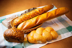 Assortment of baked bread Stock Photography