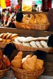 Assortment of baked buns Stock Image