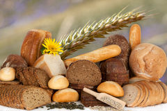 Assortment of baked goods Stock Photography